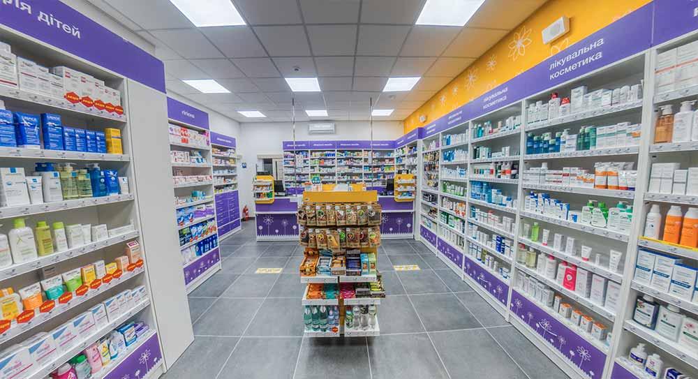 Мебель для Аптека Белая Ромашка